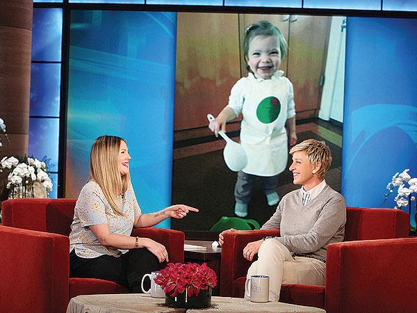 Drew Barrymore Ellen DeGeneres Show