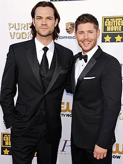 Jared Padalecki Jensen Ackles Supernatural Critics Choice Awards