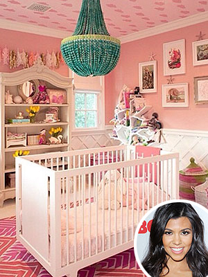 Kourtney Kardashian Nursery Daughter Penelope InStyle Magazine