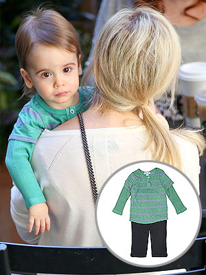 Sarah Michelle Gellar son Rocky Splendid top