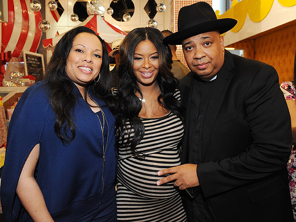 Vanessa Simmons Mike Wayans Baby Shower