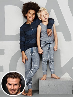 David Beckham Boys Bodywear H&M