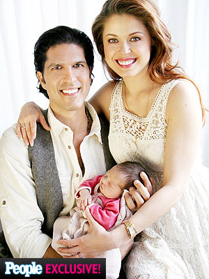Anna Trebunskaya Introduces Daughter Amalya