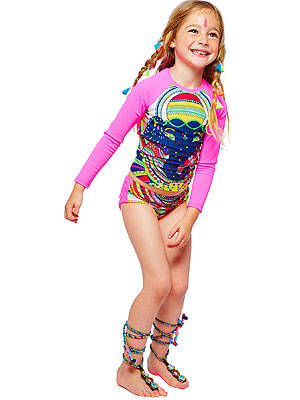 Mara Hoffman J.Crew Kids Bathing Suit Collection