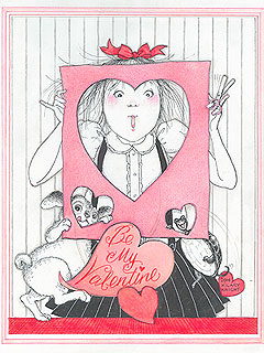 Plaza New York Eloise Valentine's Day print