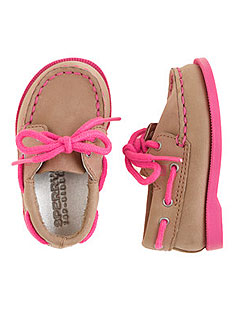 J.Crew Leather Boat Shoes Pink