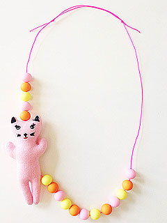 Wunway Kitty Necklace