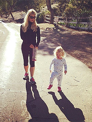 Jessica Simpson Daughter Maxwell Instagram Photo