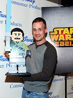 Freddie Prinze Jr Star Wars Rebels Toy Fair