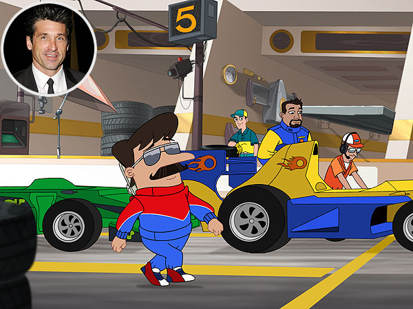 Patrick Dempsey Phineas & Ferb
