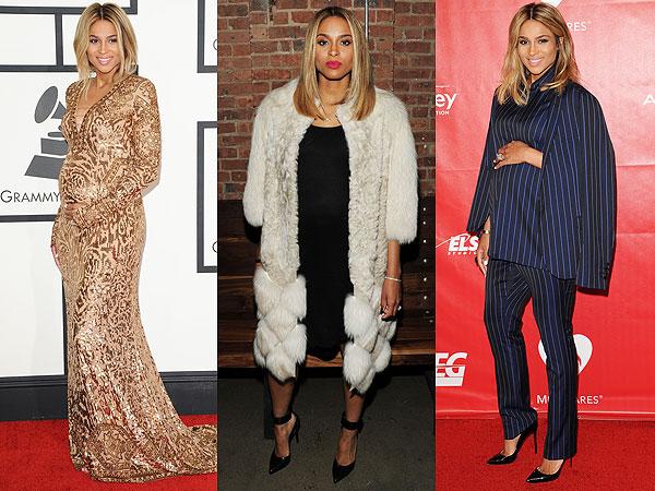 Ciara Pregnant style