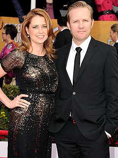 Jenna Fischer Pregnant Expecting Second Child Lee Kirk