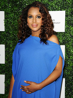 Kerry Washington Pregnant Essence Black Women in Hollywood Luncheon