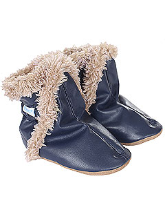 Robeez Faux Fur Booties