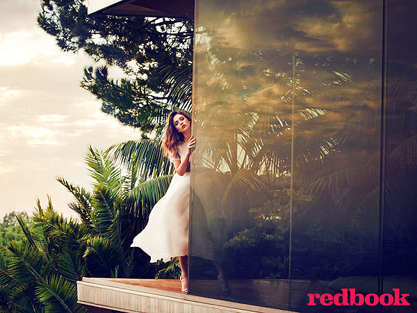 Jessica Alba April Redbook Magazine