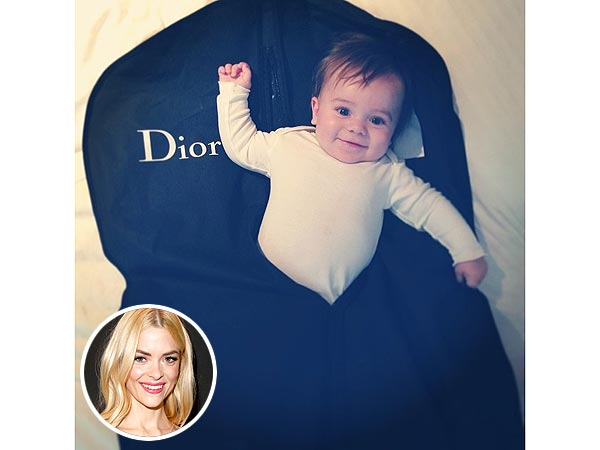 Jaime King Instagram Son Jaime Knight Dior Garment Bag