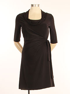Japanese Weekend D&A faux wrap dress