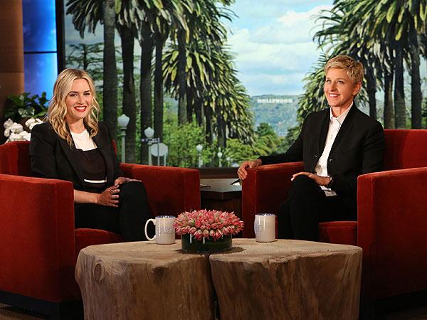 Kate Winslet Ellen DeGeneres
