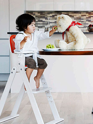 Svan Baby-to-Booster Bentwood High Chair Review