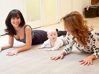 Hilaria Baldwin's New Yoga Partners? Giada De Laurentiis and Daughter Carmen
