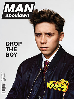 Brooklyn Beckham Modeling Debut Man About Town Magazine