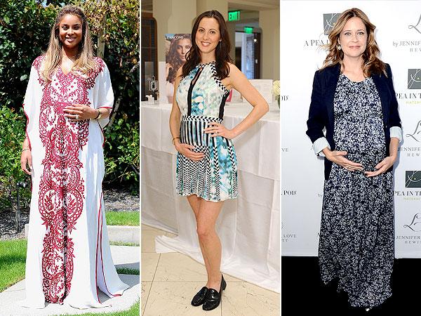 Ciara, Eva Amurri Martino and Jenna Fischer: Pregnant Style