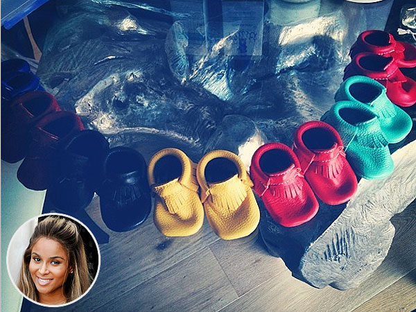 Ciara Pregnant Instagram Freshly Picked Moccasins