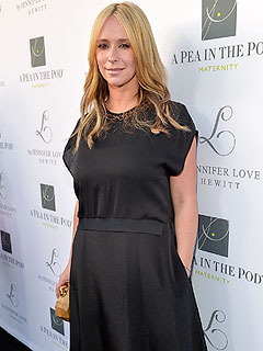 Jennifer Love Hewitt A Pea in the Pod collection launch