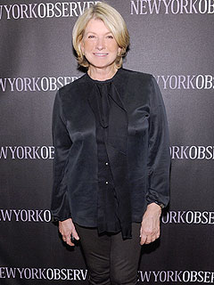 Martha Stewart New York Observer Redesign Party