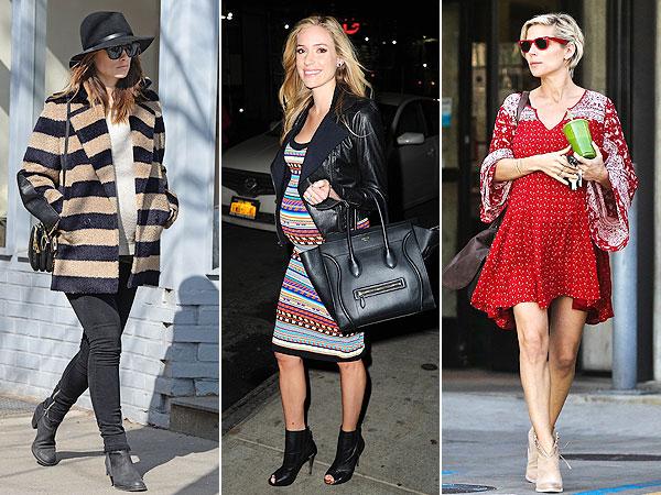 Olivia Wilde, Kristin Cavallari and Elsa Pataky: Pregnant Style
