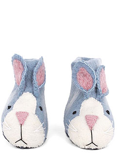 Alex and Alexa Bunny Slippers