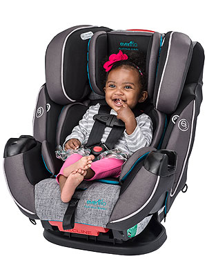 Evenflo Symphony DLX All in One Car Seat giveaway