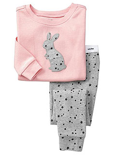 Gap bunny pajamas