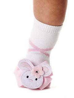 Baby Mud Pie Bunny Socks