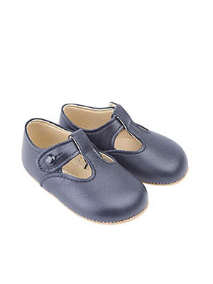 Early Days Alex Pre-Walkers Navy Trotters UK