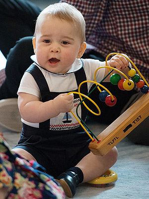 The Royal Tots of Britain: Prince George Descends from a Long Line of Cuteness | Prince George