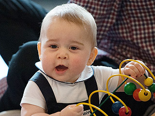 The Royal Tots of Britain: Royal Baby No. 2 Descends from a Long Line of Cuteness | Prince George