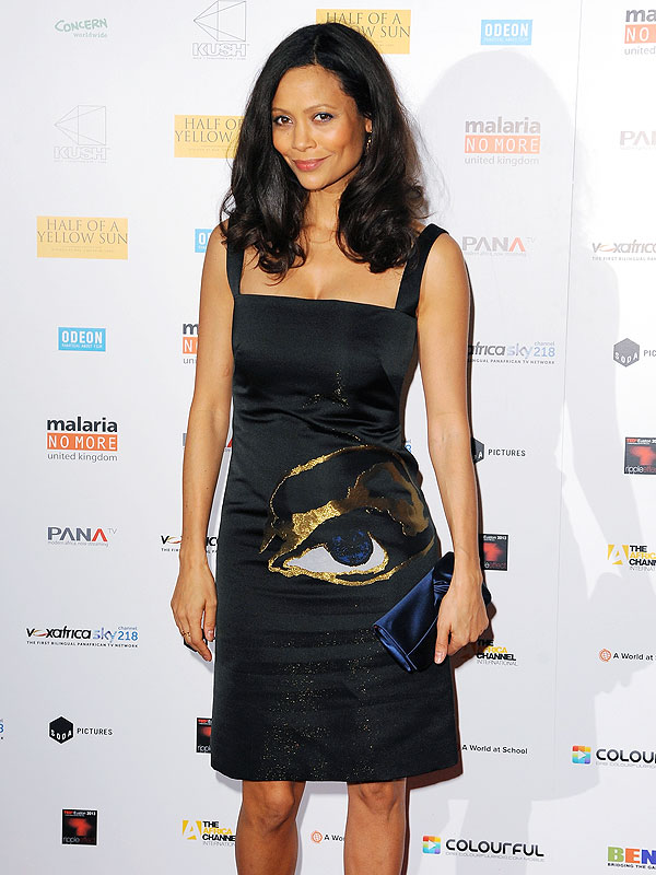 Thandie Newton Body After Baby Son Booker Jombe