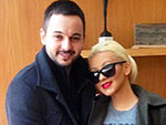 PHOTO: Christina Aguilera Debuts Baby Belly | Christina Aguilera