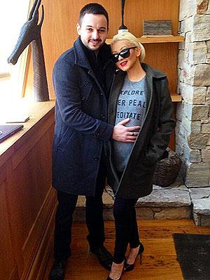 Christina Aguilera Pregnant Matt Rutler