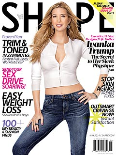 Ivanka Trump Shape Magazine Cover