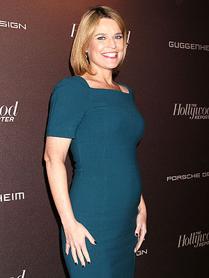 Savannah Guthrie Hollywood Reporter Most Powerful People party