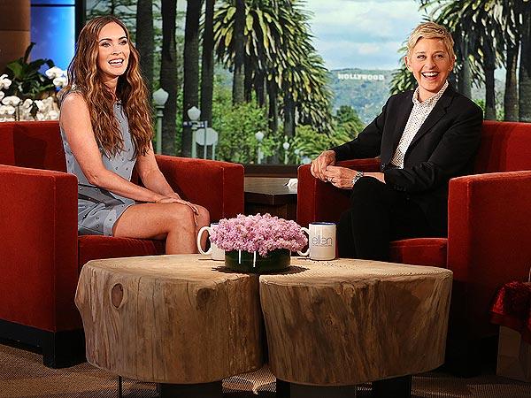 Megan Fox Ellen DeGeneres