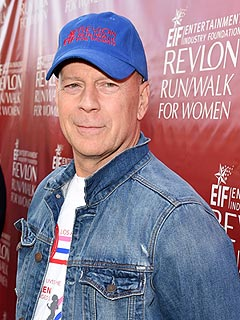 Bruce Willis Revlon Run Walk