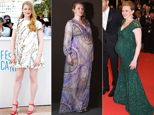 Mireille Enos Pregnant Cannes Style The Captive