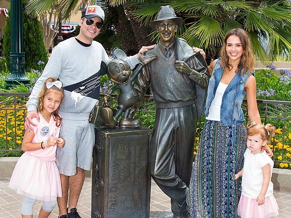 Jessica Alba Daughter Honor Warren Birthday Disneyland