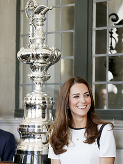 Kate Wants Prince George (Who's Walking!) to Learn to Sail