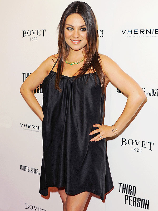 Mila Kunis Third Person Premiere