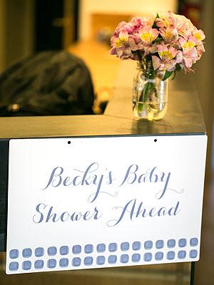 Rebecca Minkoff Baby Shower