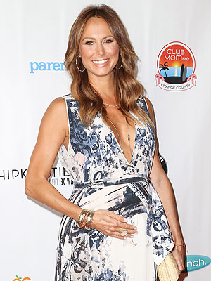 Stacy Keibler Pregnant Club MomMe Spring Family Fest